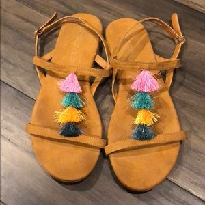 Women's H&M Tassel Sandals